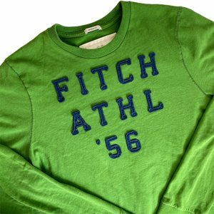 Abercrombie & Fitch Muscle T-Shirt Thermal Green